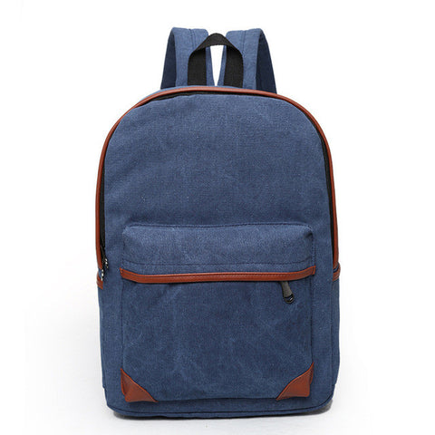 Preppy Style Canvas Backpack - Order Today!