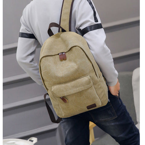 Men's Casual Canvas Backpack - Order Today!