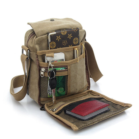 Vintage Canvas Messenger Bags - Order Today!