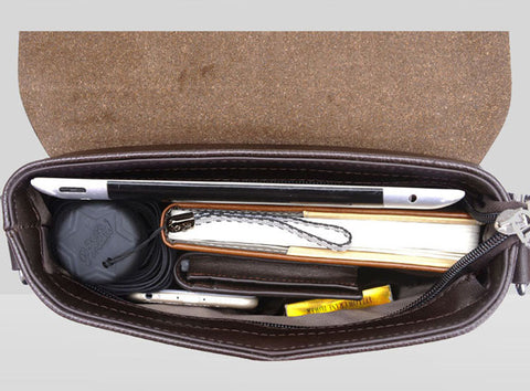 New Business Leather Messenger Bag - Order Today!