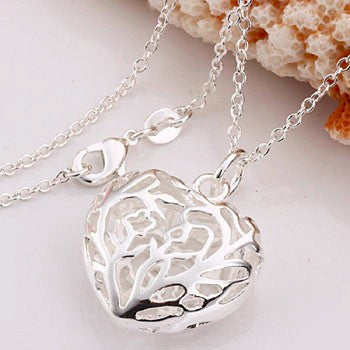 Silver Plated Pendant Necklace - Order Today!