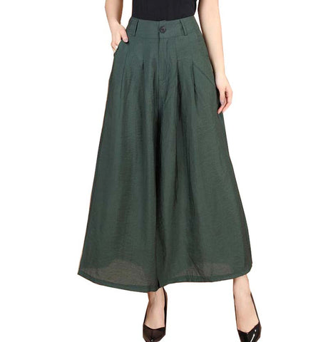 Loose Cotton Dress Pants - Order Today!
