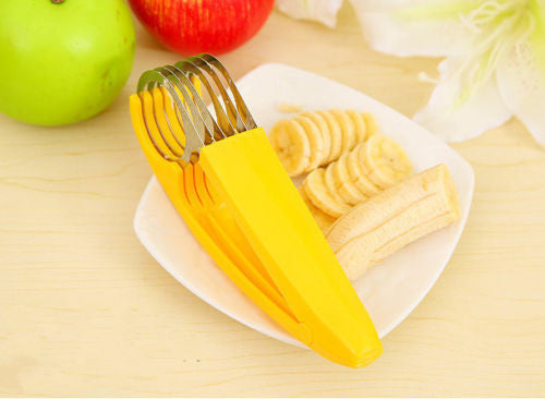 Stainless Steel Banana Cutter - Order Today!