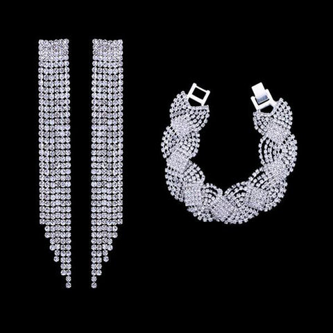 Super Crystal Bridal Jewelry Set - Order Today!
