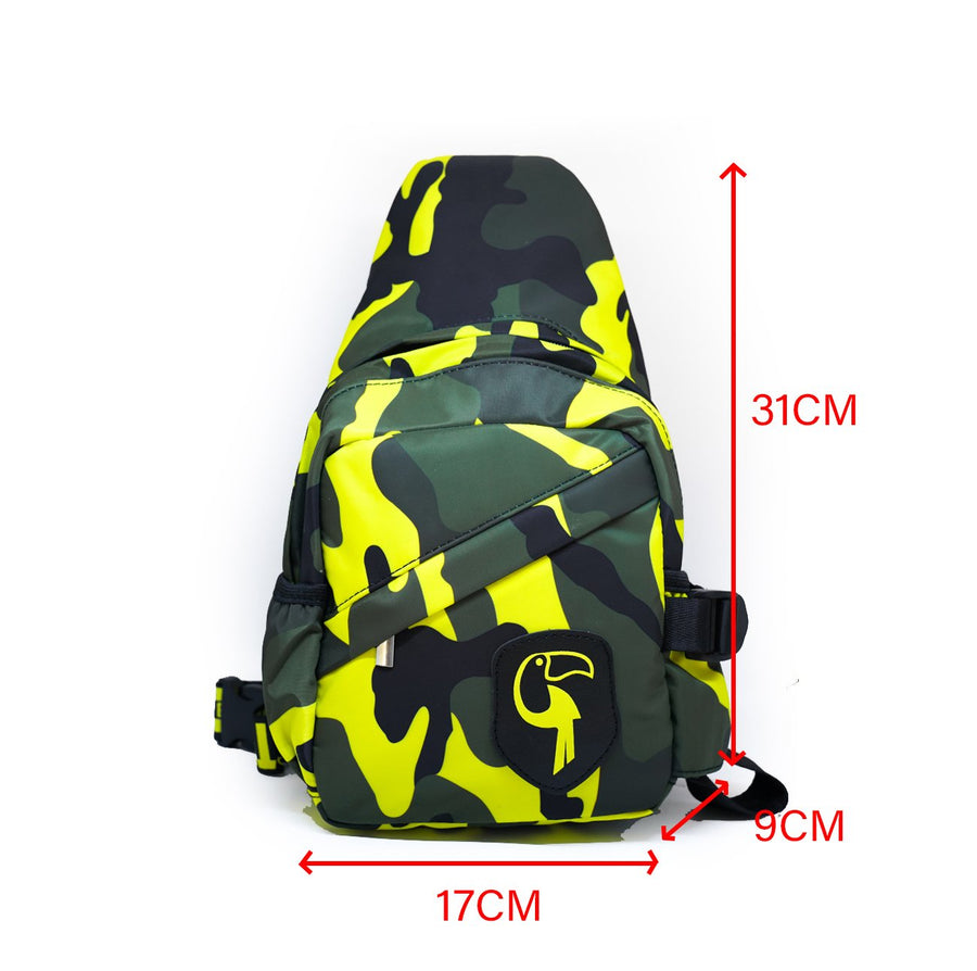 Beach Day-Bag Camo Yellow Tucann