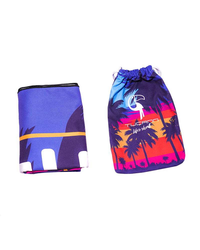 Blue Palms Beach Towel Towel Tucann