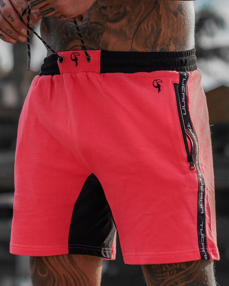 Comfy Shorts - Melon Red Shorts / Board shorts Tucann