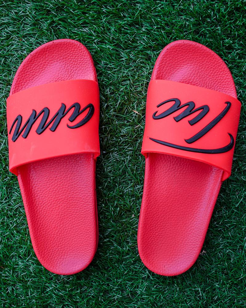Signature Slides Red Tucann