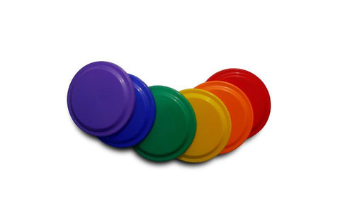 Alliance Coloured Frisbees (Set of 6) | blitzsports.com.au