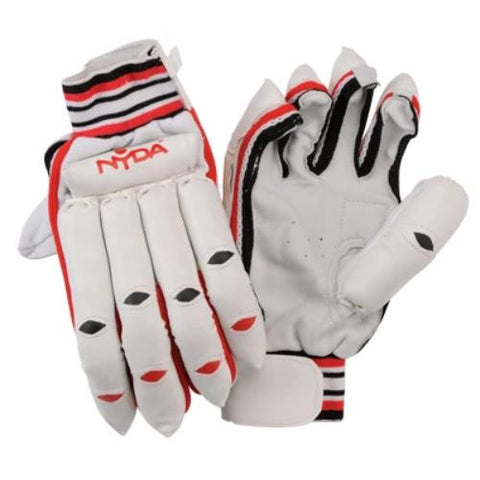 NYDA Leather Palm Cricket Batting Gloves | blitzsports.com.au