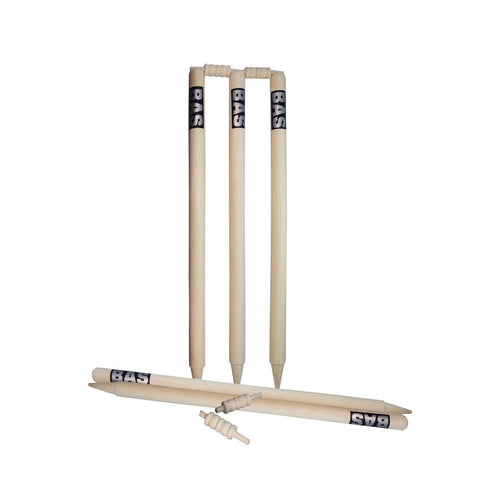 BAS Club Wooden Cricket Stump Set