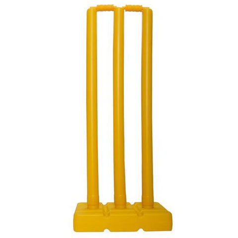 BAS Modified Plastic Cricket Stump Set | blitzsports.com.au