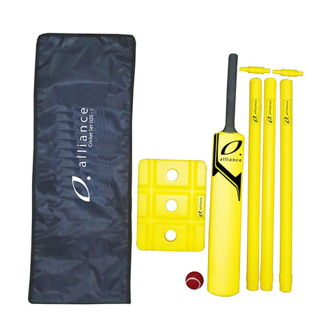 Alliance Plastic Cricket Set | blitzsports.com.au