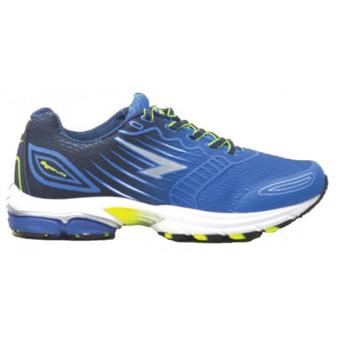 SFIDA Conquest Royal/Navy/Lime Boys Sports Shoes | blitzsports.com.au