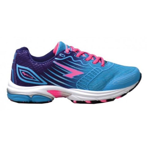 SFIDA Conquest Blue/Purple/Pink Girls Sports Shoes | blitzsports.com.au