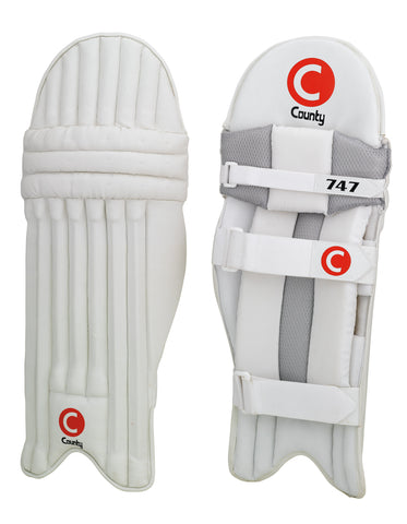 County 747 Batting Leg Guards | blitzsports.com.au