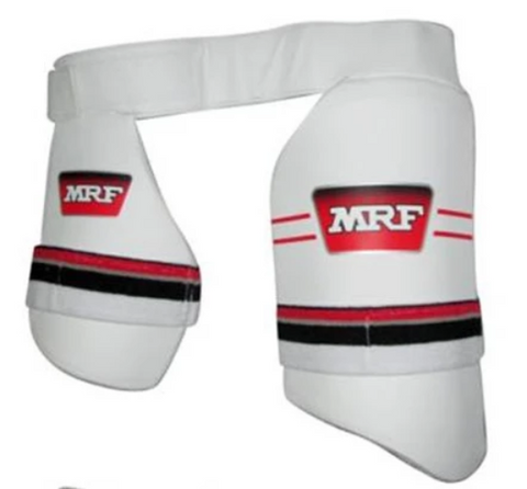 MRF Genius LE Dual Thigh Guards Mens | blitzsports.com.au