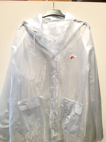 Cooper's Heavy Duty Transparent Raincoat | blitzsports.com.au
