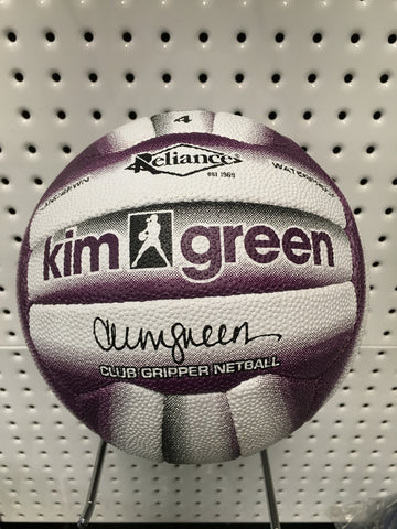 Reliance Kim Green Club Gripper Netball