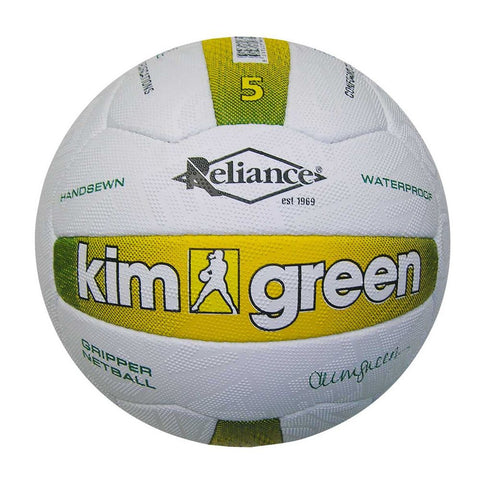 Reliance Kim Green Match Gripper Netball