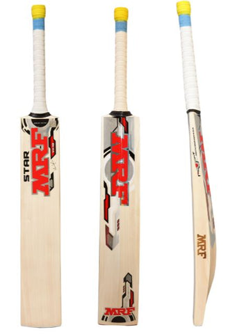 MRF Star Virat Kohli English Willow Cricket Bat 2018/19 | Blitzsports.com.au