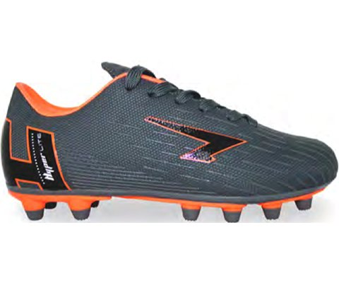 SFIDA Velocity Grey/Orange Junior Football Boots | blitzsports.com.au