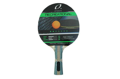 Alliance Typhoon 2-Star Table Tennis Bat | blitzsports.com.au