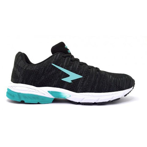 SFIDA Black/Aqua Transfuse 2 Girls Sports Shoes