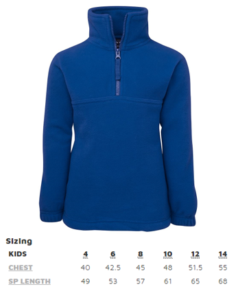 Attadale Netball Fleece Jacket | blitzsports.com.au