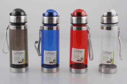 Urban Kitchen Spring Cap Sports 600ml Water bottle