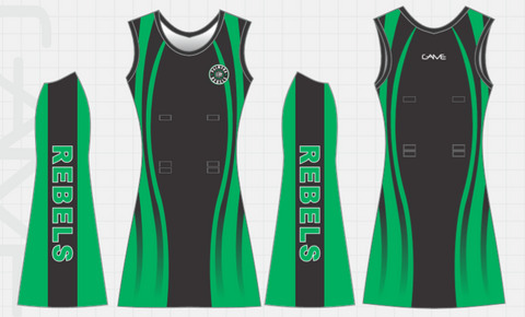 Palmyra Rebels Netball Dress | blitzsports.com.au