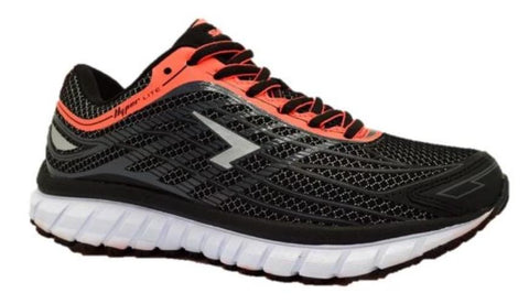 SFIDA Transcend Girls Black/Silver/Coral Sports Shoes | Blitzsports.com.au