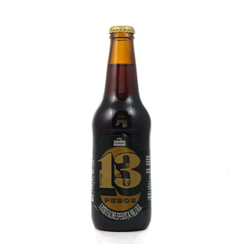 13 PESOS STOUT 330 ML - 6º