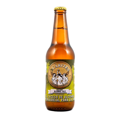 3 CARITES BLONDE ALE - 330ML - 4,5°