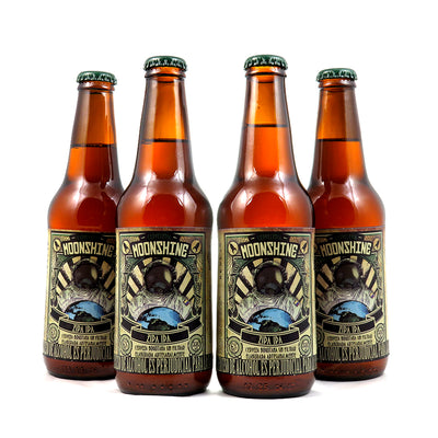 4 PACK - BEER HAPPY - CERVEZA ARTESANAL - COLOMBIANA -  MOONSHINE - ZIPA IPA - 330 ML - 6°
