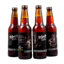 4 PACK - Beer Happy - artesanal colmbiana - cerveza -  BEER EXPIRIENCE LAB ROJANTE - 356ML - 6°