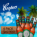 6 PACK - COOPERS ORIGINAL PALE ALE - 375 ML - 4,5°