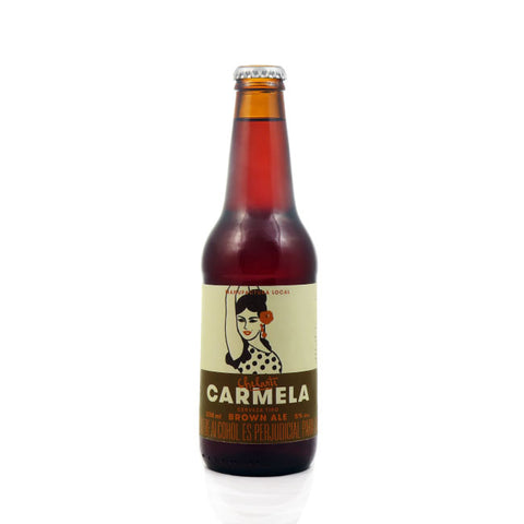 CHELARTE CARMELA - BROWN ALE  330 ML - 5º