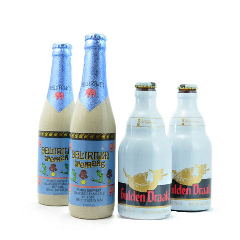 DELIRIUM TREMENS 330 ML + GULDEN DRAAK 330 ML