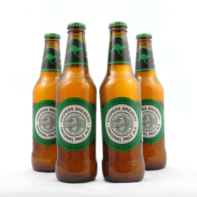 4 PACK - Cerveza Importada - Beer Happy -  COOPERS ORIGINAL PALE ALE - 375 ML - 4,5°