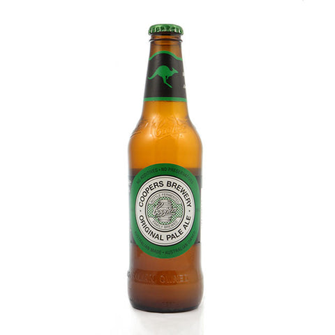 CERVEZA IMPORTADA COOPERS ORIGINAL PALE ALE 375 ML 4,5% ALCOHOL