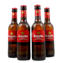 4 PACK - Cerveza importada - beer happy - ESTRELLA DAMM - 330ML - 4,6°