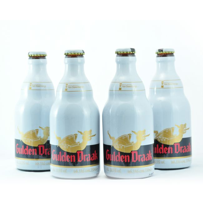 4 PACK - Cerveza Importada - Beer Happy -  GULDEN DRAAK - 330 ML - 10,5°
