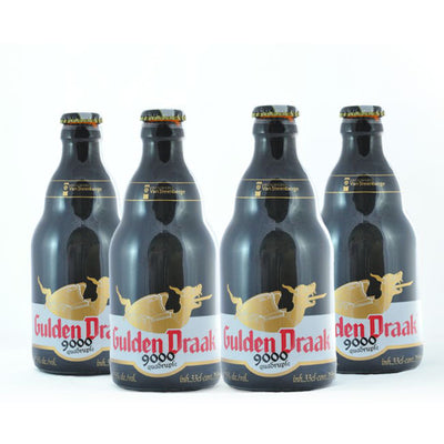 4 PACK - Cerveza Importada - Beer Happy - GULDEN DRAAK 9000 QUADRUPLE - 330 ML - 10.5°