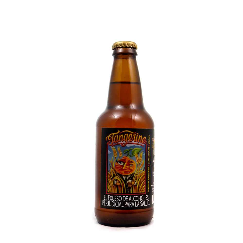 LOST COAST - TANGERINE - WHEAT - 330 ML importada cerveza beer happy club USA