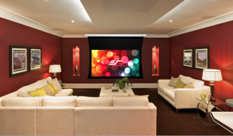 Merveilleux The CineTension B Is The Perfect Overall Projector Screen For DIY And Home  Theater Lovers. The CineTension B Also Comes Equipped With A Infrared  Remote ...