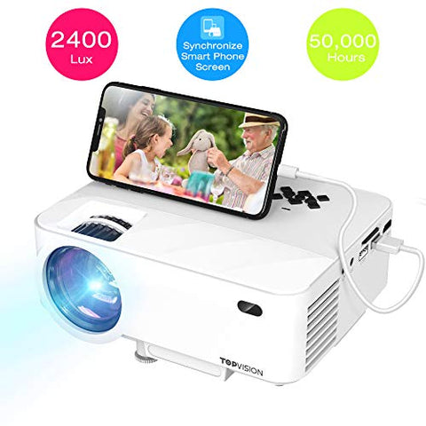 Image of Mini Projector with Synchronize Smart Phone Screen