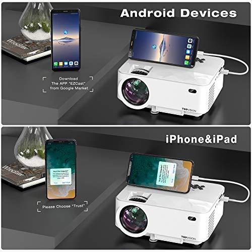 Mini Projector with Synchronize Smart Phone Screen