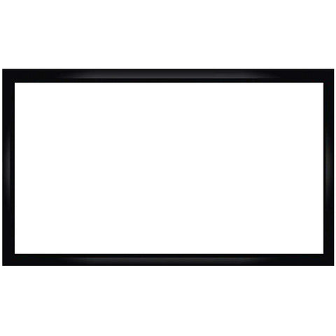 Antra PSF-133JA Fixed Frame Projector Projection Screen (Matt White PVC) for Home Theatre Business Presentation 4K/8K 3D HD Compatible (133 Inches Diaganal 16:9 Ratio)