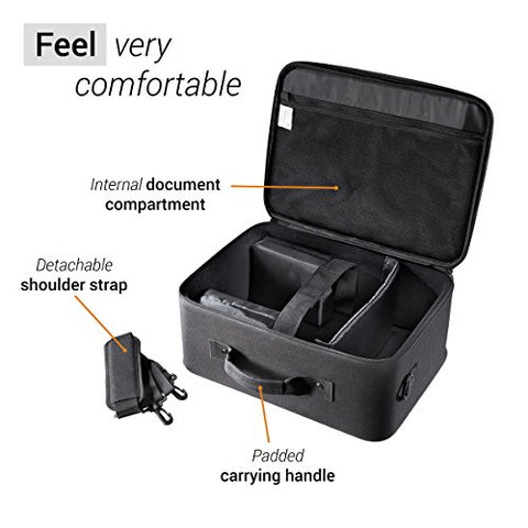 Projector Carrying Case With Hard Shell Frame